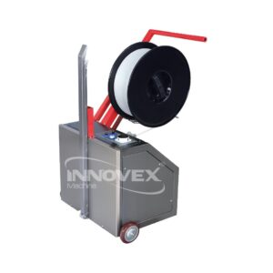 Cercleuse de palettes innovex, Pallet strapping machine, algerie