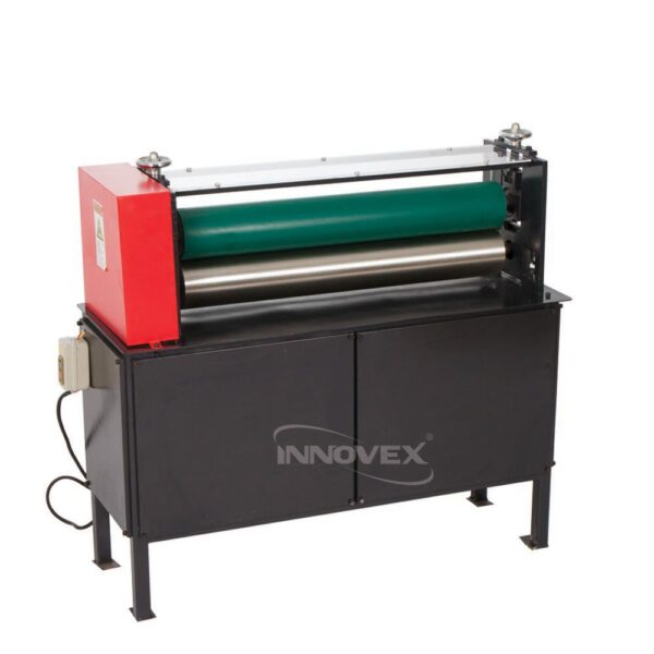 machine calendreuse presse colleuse innovex, calendar gluing press machine, algerie