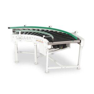 Convoyeur motorisé courbé à rouleaux 90°,Motorized Conveyor Curved Roller, algerie, innovex